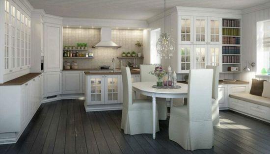Luxury Nordic Kitchen Interior Design Ideas - Kitchen