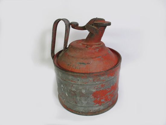 1930s Peerless Safety Device Gas or Oil Can by UrbanRenewalDesigns, $35.00