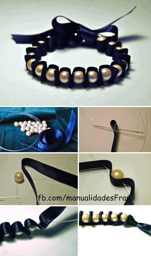 Easy way to make a beautiful bracelet