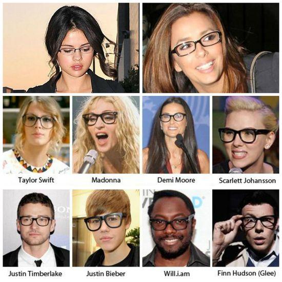 Celebrity Mix  #celebrities #glasses