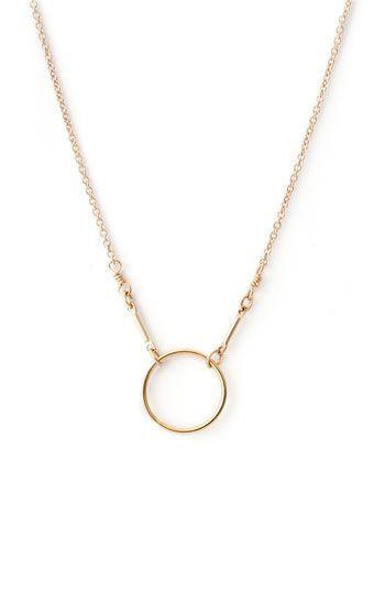 'Karma' Reminder Pendant Necklace /  Dogeared