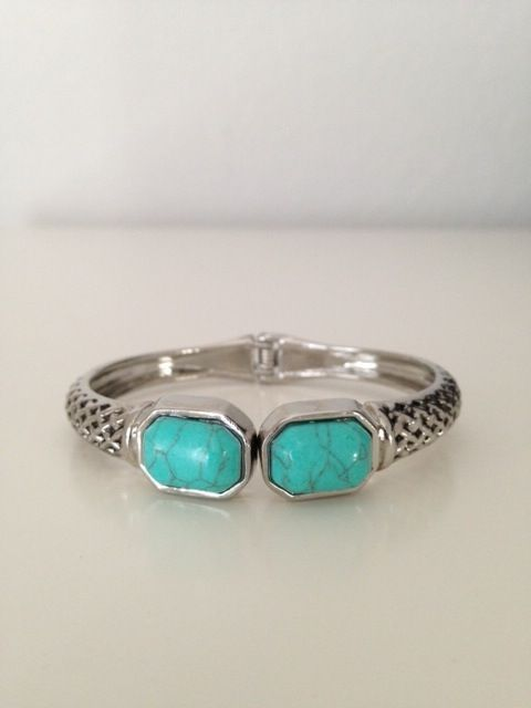 Turquoise Cuff #Turquoise #jewelry