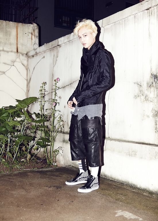 EXO Kai Growl Concept Photo