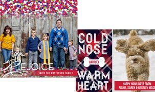Good Morning America Feature: Personalized Holiday Cards, Invites, Gift Tags, and Party Accessories