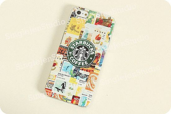 iPhone 5s Case Star Bucks  iphone 4 case Star by SingleJennystudio, $9.99