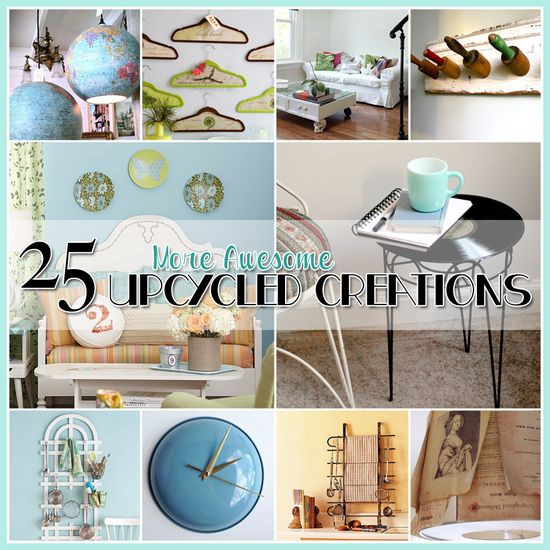25 More Awesome Crafts Ideas!