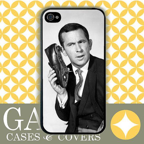 iPhone 4s Case, iPhone 4 Case, iPhone Case, Retro Get Smart via Etsy
