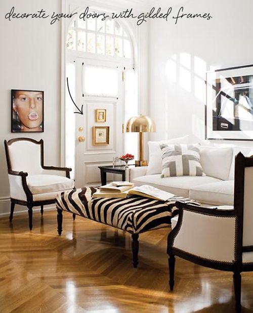 Black & white & gold