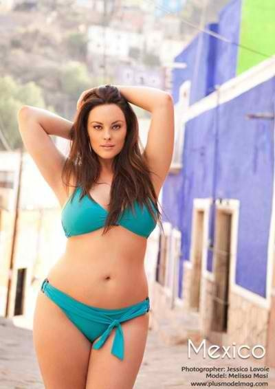 Model Melissa Masi- plus size model    She is fantastic!