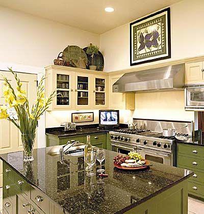 Well-Seasoned Style < 50 Favorite Kitchens - MyHomeIdeas.com