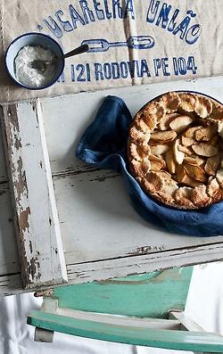 Spelt Apple Tart #recipe