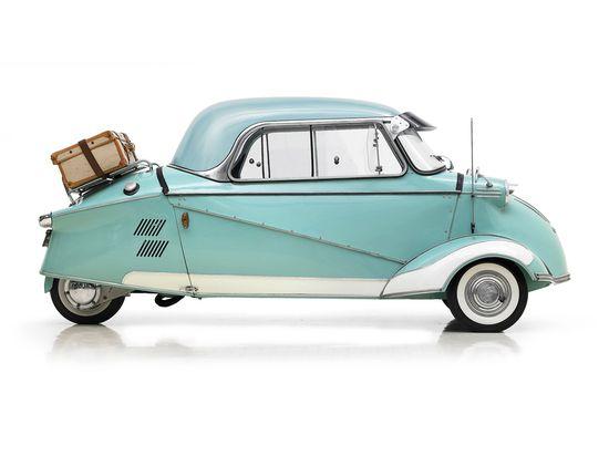 """1956 Messerschmitt """"Kabinenroller"""" KR200."""