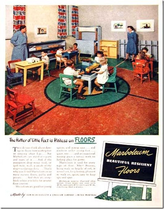 A Marboleum ad from 1949
