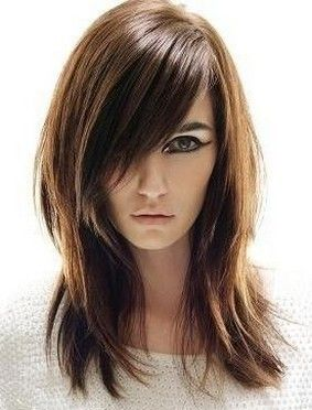 Model Long Hair Hairstyles with Layers