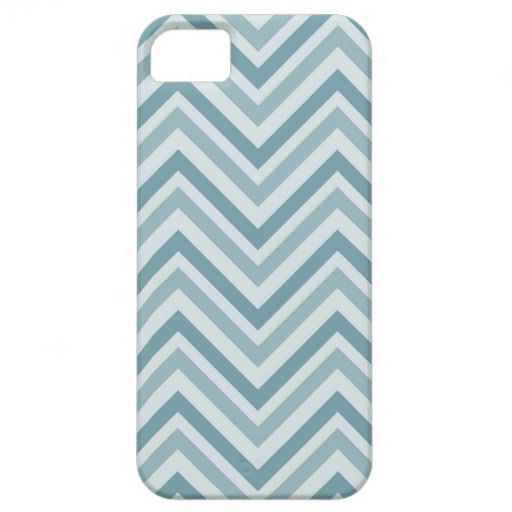 Blue Chevron iPhone 5 Covers