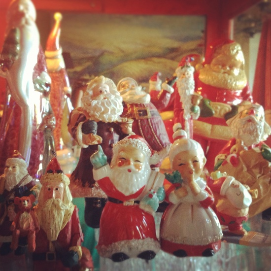 Vintage Santa Collection. www.nicoleyee.com