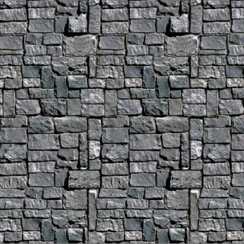 Amazon.com - Stone Wall Backdrop Party Accessory (1 count) (1/Pkg)