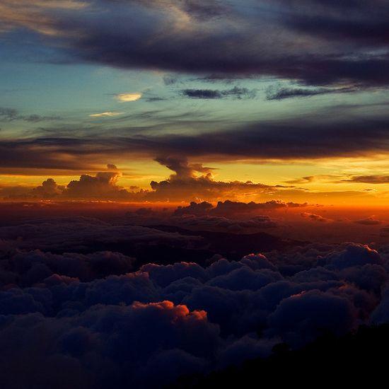 From the peak - Mount Kinabalu, Malaysia
