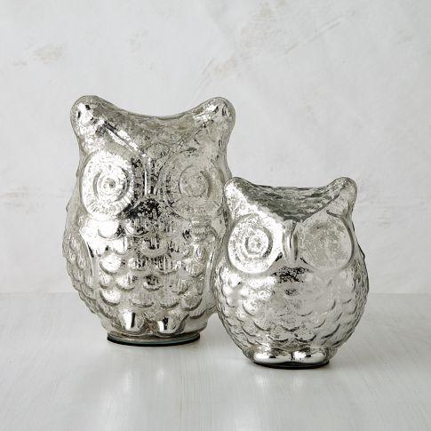 mercury owls! so fantastic! west elm. $19