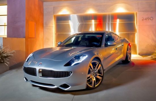 Fisker Karma a luxury hybrid electric sports car - love everything about it!