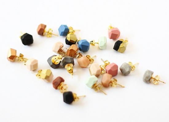 AMM Jewelry geo earrings