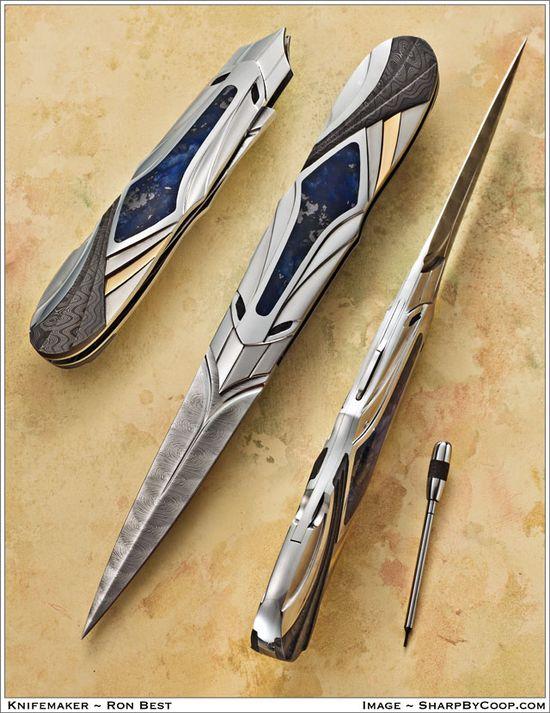 Photos SharpByCoop • Handmade Knives by Ron Best