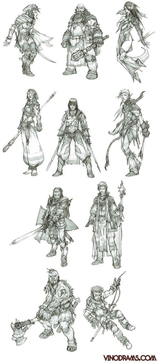 character art  www.vinodrams.com