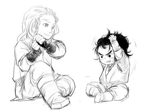 Young Fili and Kili