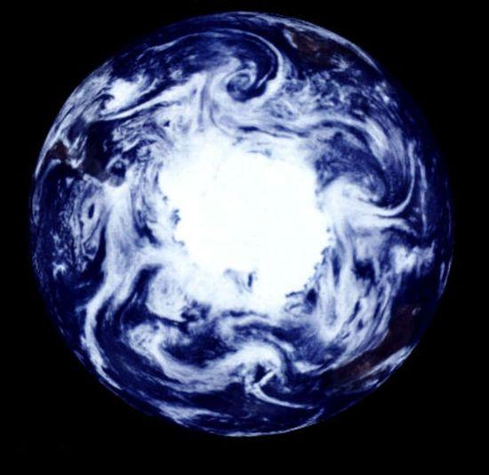 Summer at the South Pole by Galileo Project, NASA #South_Pole #NASA