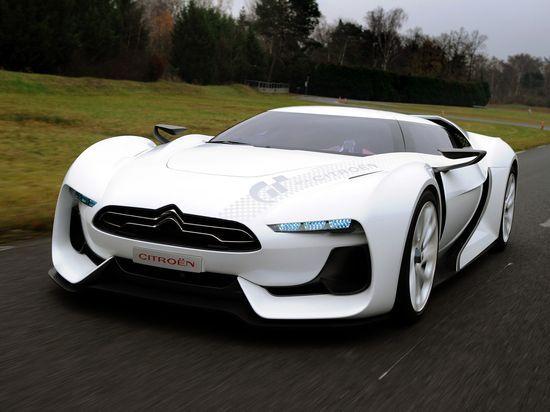 Sporty Futuristic Citroen GT #celebritys sport cars