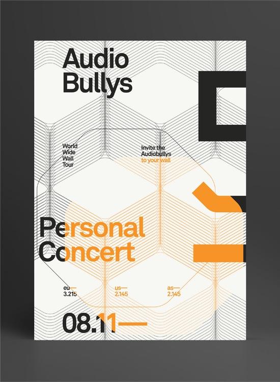 Audio Bullys on Behance