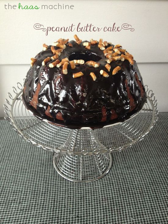 Peanut Butter Cake on MyRecipeMagic.com #cake #peanut #butter