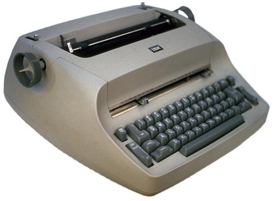 IBM Selectric...