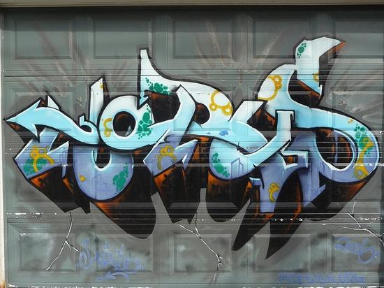 Graffiti by Horus, Toronto.