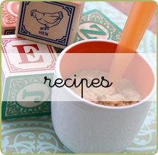 Great homemade baby food recipes organized by age