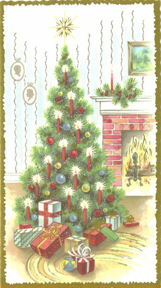 Vintage Christmas Card  (www.etsy.com/...)