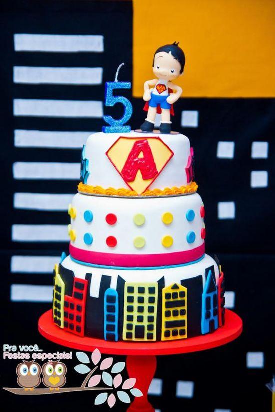 Superhero Birthday Party via Kara's Party Ideas
