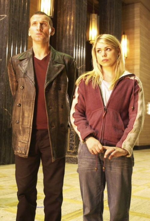 Christopher Eccleston & Billie Piper on Doctor Who
