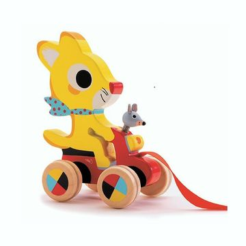 Pull Along Toy - Chabada the Fox children's toy