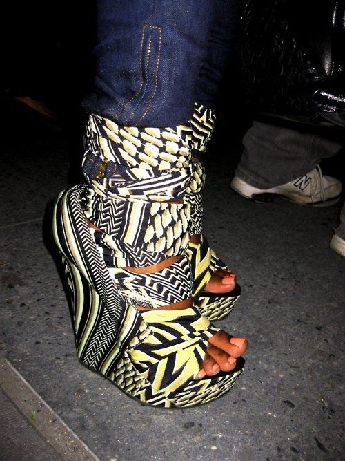 African print inspired.