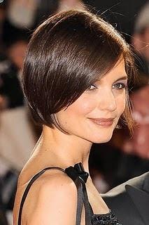 sleek short hair style