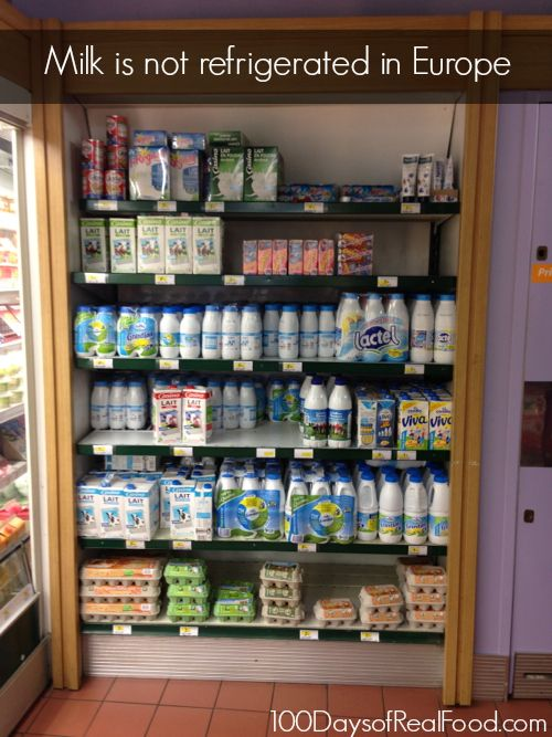 Why Some Milk Is Not Refrigerated (and an explanation of UHT) - 100 Days of Real Food