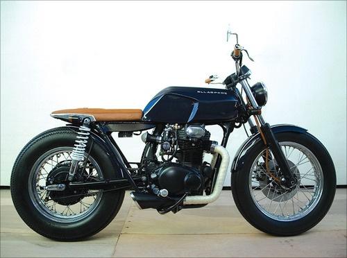 1971 Honda CB350 - Ellaspede Customs