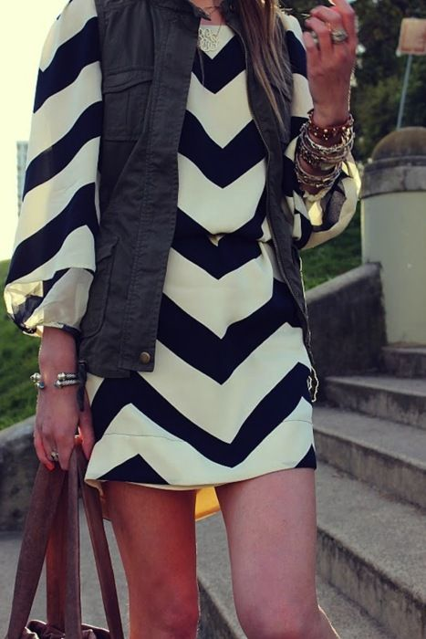 chevron dress, I want this