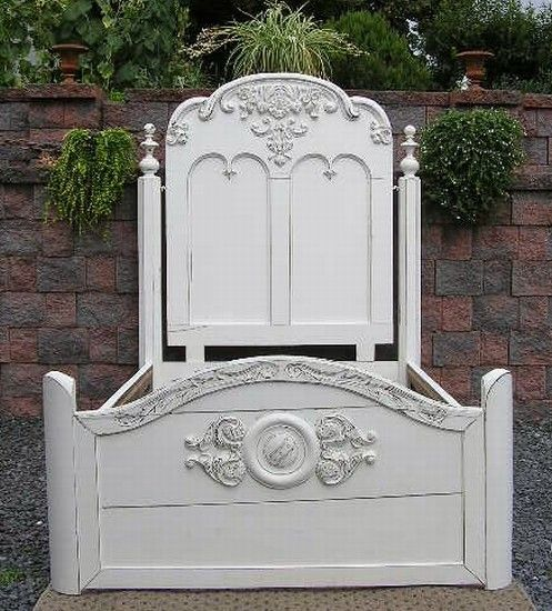 STUNNING Shabby COTTAGE cHiC Full Double Wedding BED