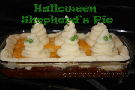 Great food idea for Halloween