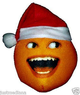 Annoying Orange Holiday Plush - Uh-Oh Orange Santa - Stocking Stuffer - 4+