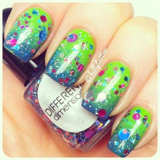 Cool nail polish art