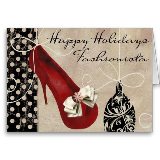 Fashion Shoes Holiday Gift Card