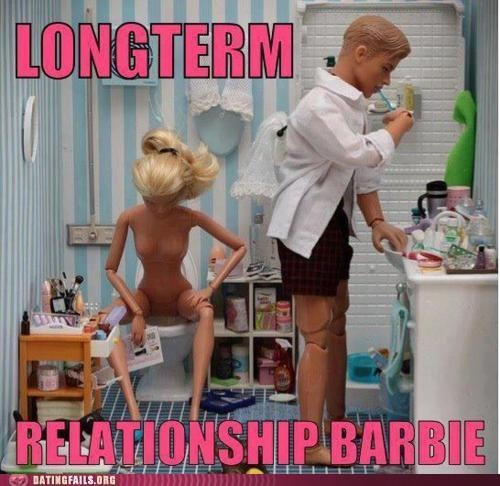 Barbie and Ken #humor #relationships #barbie #lol #funny